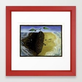 We All Drink the Same Coffee Framed Art Print