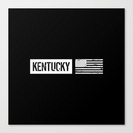 U.S. Flag: Kentucky Canvas Print