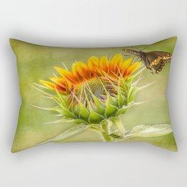 Yang Sunflower Rectangular Pillow