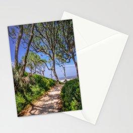 Beach Path Stationery Cards