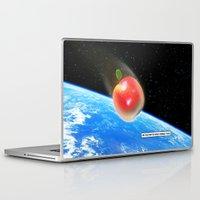 gravity Laptop & iPad Skins featuring Gravity by John Medbury (LAZY J Studios)
