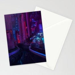 Tokyo Nights / Glitch City / Liam Wong Stationery Cards