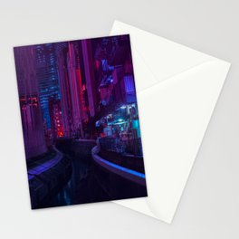 Tokyo Nights / Glitch City / Liam Wong Stationery Cards
