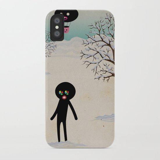 b r r r iPhone Case