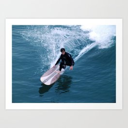 This Is You Surfing Art Print