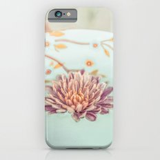 Vintage flower floating iPhone 6s Slim Case