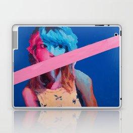 Blue Girl Laptop & iPad Skin