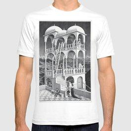 mc escher belvedere T-shirt
