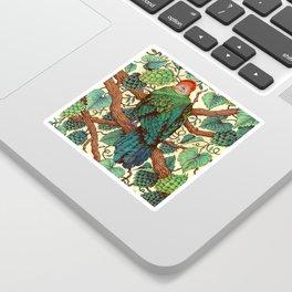 Tipsy Turaco Sticker