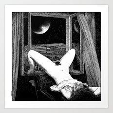 asc 558 - Le clair de femmes (Moonstruck) Art Print