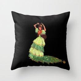 Flamenca! Throw Pillow