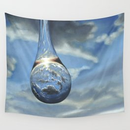 Tears In His Bottle Wall Tapestry