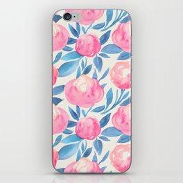 Watercolor pattern 1 iPhone Skin