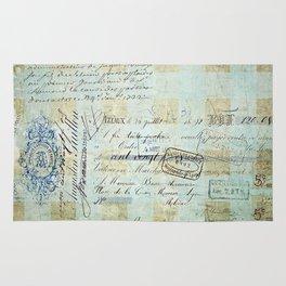 carnet de chèques Rug
