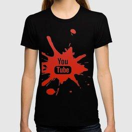 Youtube youtuber - best design or YouTube lover T-shirt