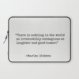 Charles Dickens quote 5 Laptop Sleeve