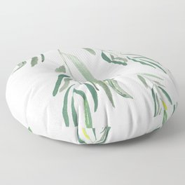 Eucalyptus Branches II Floor Pillow