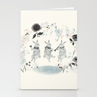 band Stationery Cards featuring Woodland Band by Danse de Lune
