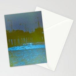 Santa Monica Pier. Stationery Cards
