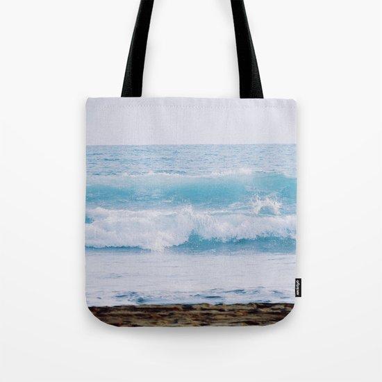Pastel Ocean #waves Tote Bag