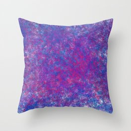 grit galaxy Throw Pillow