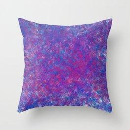 grit galaxy Throw Pillow