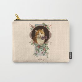 PURRFECT CHRISTMAS greeting card Carry-All Pouch