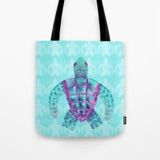 Tomas in Aqua Tote Bag