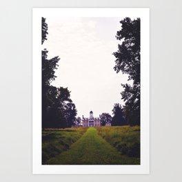 Hampton House Art Print