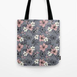 Gray nature Tote Bag