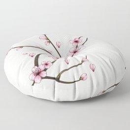 Cherry Blossom Floor Pillow