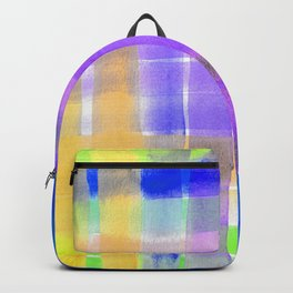 Happy Colorful Stripes - Summer Time Palette Backpack
