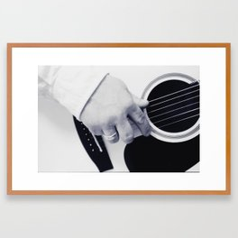 Songwriter Framed Art Print