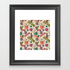 I Am Crafty Framed Art Print
