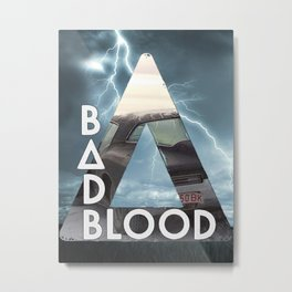 Bastille - Bad Blood Metal Print