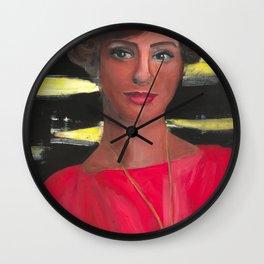 Joan Holloway Movie Art Drawings Feminist Icon Portrait Wall Clock