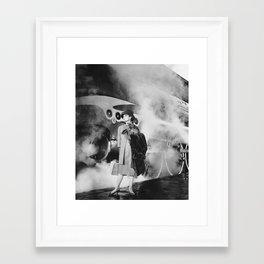 Audrey & Mr Faamous Framed Art Print