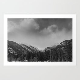 Rocky Mountains National Park Art Print