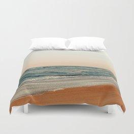 Ocean Orange Duvet Cover
