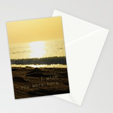 I wish you were here... Stationery Cards