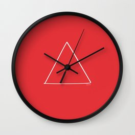Fire - Minimal FS - by Friztin Wall Clock