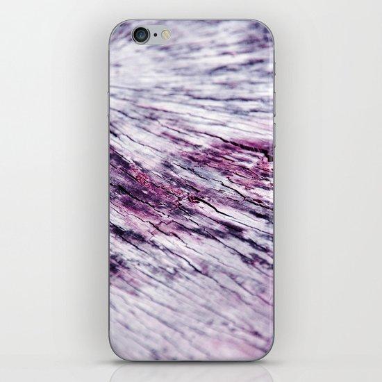 timber iPhone & iPod Skin
