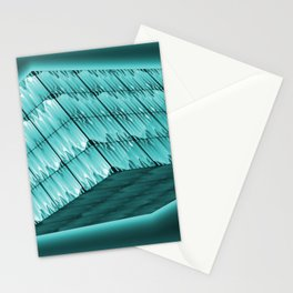 Floating and lightning box Stationery Cards