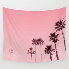 Tranquillity - flamingo pink Wall Tapestry