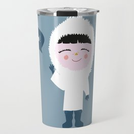 Cute little Eskimo Travel Mug