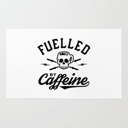Fuelled By Caffeine v2 Rug