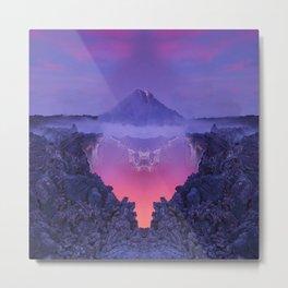 The mutation of the volcano Metal Print