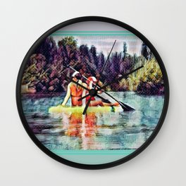 Paddle Wall Clock