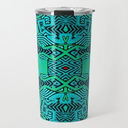 Kuna Indian Shaman Ritual Travel Mug