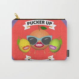 PUCKER UP BUTTERCUP Carry-All Pouch